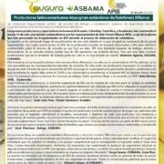 Productores latinoamericanos se reúnen por estándares de Rain Forest Alliance.